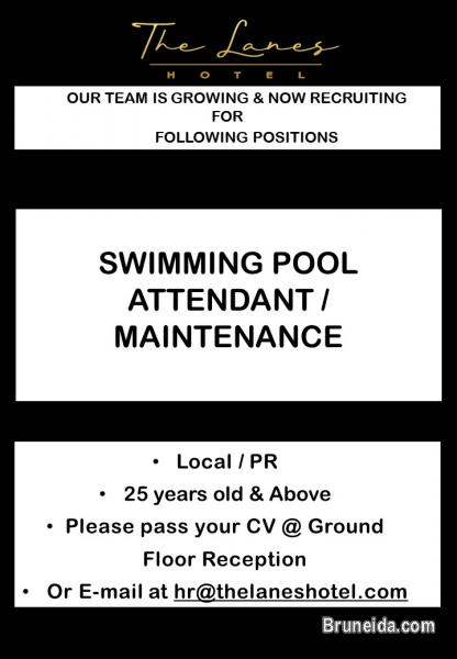 Picture of SWIMMING POOL ATTENDANT CUM MAINTENANCE