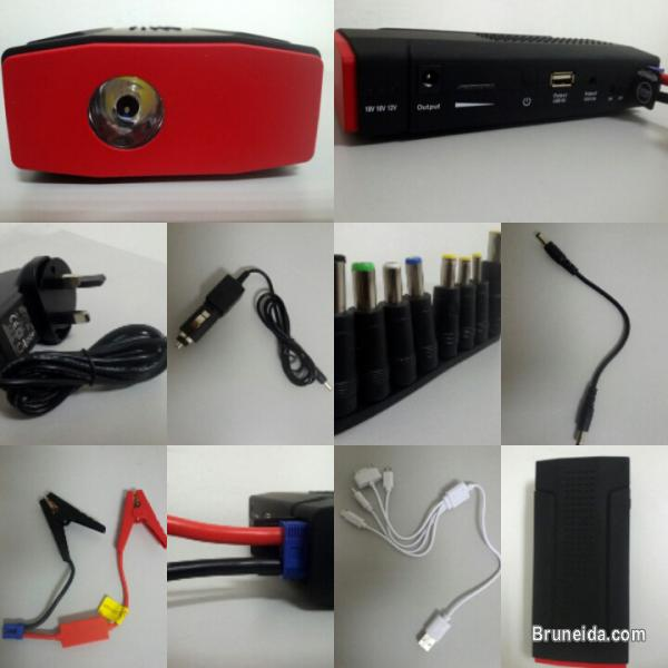 Picture of PORTABLE POWER BANK BATTERY JUMP STARTER LED FLASHLIGHT