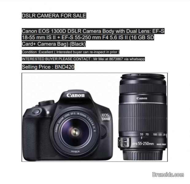 Picture of Canon EOS 1300D camera for sale