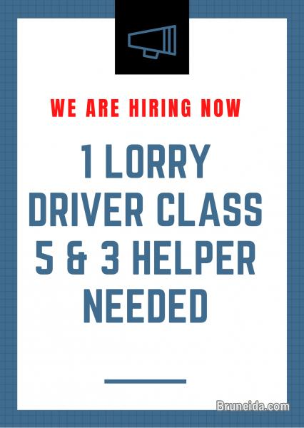 Pictures of LORRY DRIVER DRIVER CLASS 5 /HELPER