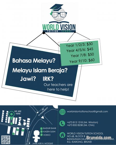 Picture of TUTORING SERVICES AT KIARONG BAHASA MELAYU, MIB, IRK, JAWI