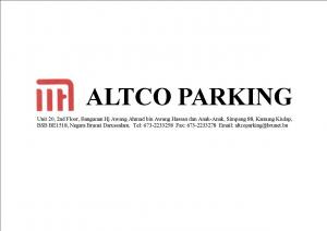 Logo of Altco Parking